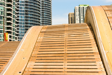 Wave Deck at harbour Front Toronto
