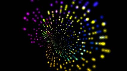 abstract rotation color ray light,seamless loop