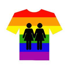 camiseta lesbianas