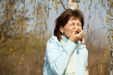 allergisch gegen birkenblüte