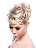 Beautiful creative hairstyle - 22262997