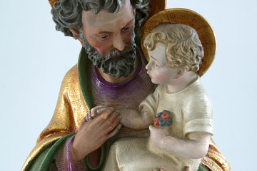Saint Joseph with child Jesus