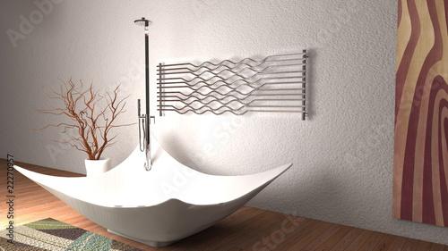 Vasca Da Bagno Quadro : Vasca da bagno con quadro e termoarredo buy photos ap images