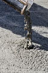 Pouring Concrete - a series of CONSTRUCTION images.