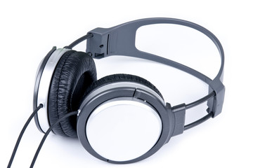 Grey headphone