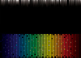 rainbow spectrum background poster