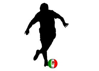 Football mexican player