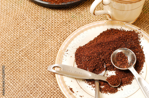 Morning Coffee Grounds