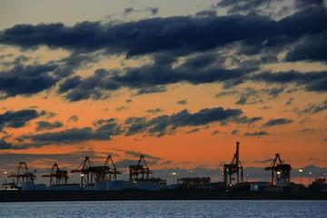 Port Botany in Sunset