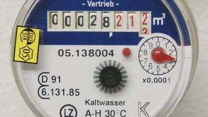 Wasserzähler - Video -  Water Counter