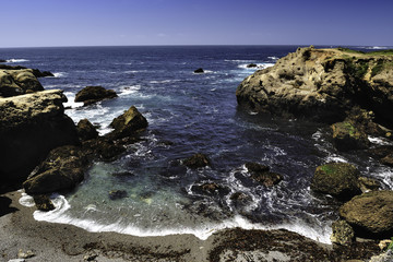 Cove at Point Lobos State Natural Reserve