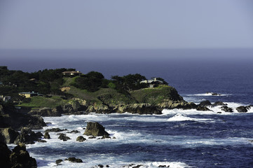 View of Rocky Point - Carmel Highlands