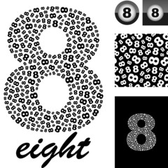 Eight. Great vector set for design.