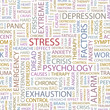 STRESS. Seamless vector background.