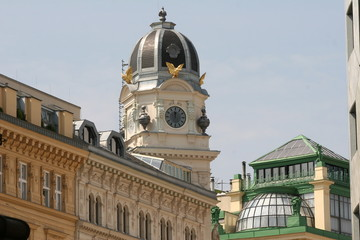 Vienna Austria - Graben - il centro