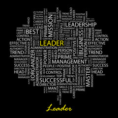 LEADER. Illustration with association terms.