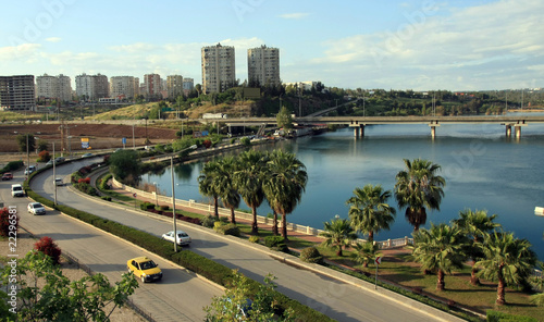 A view of Adana, Turkey