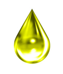 Tropfen Öl