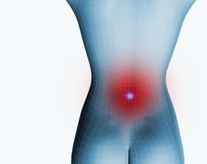 mujer y dolor de espalda