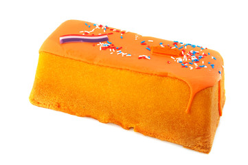 Dutch queens day cake