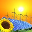 Ökologisch saubere Energie