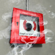 fire alarm box and smoke