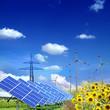 Erneuerbare Energien Landschaft