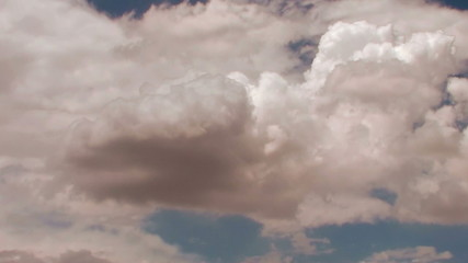 Cloudscape fast motion - HD
