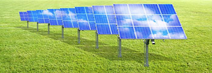 Solaranlagen im Grünen