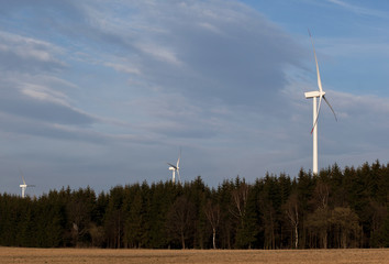 wind energy harvesting wind mills