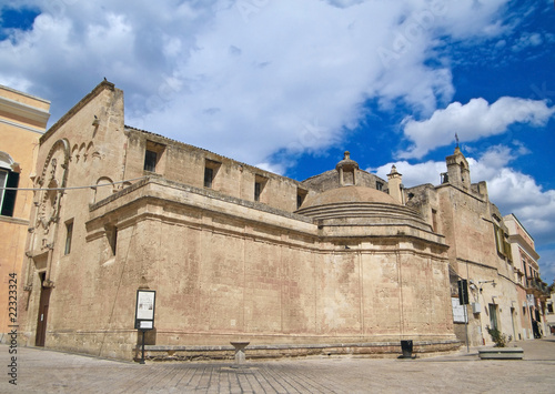 The Church of St. Domenico. Matera. Apulia.
