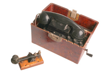 old military telephone