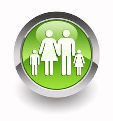 ''Family''glossy icon