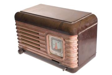 Vintage retro radio transistor