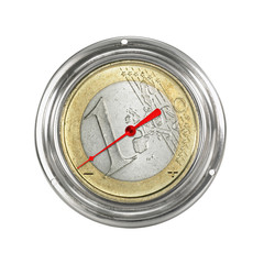 Euro Messinstrument rot