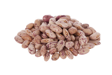 Pinto beans isolated on a white background