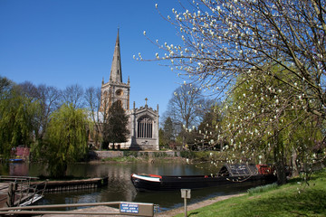 Holy Trinity Church and the River Avon