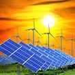 Erneuerbare Energien - Wind und Sonne