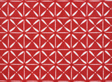Red and White Cotton Fabric
