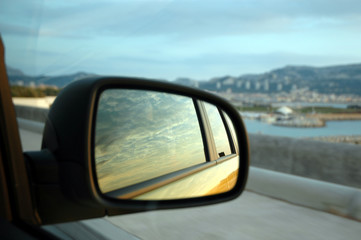 specchio auto