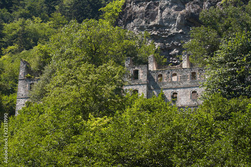 Destroyed monastery, Vazelon, Trabzon, Turkey - 22331990