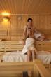 Gemeinsam in der Sauna