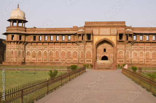 Islamic Palace in the Red Fort at Agra, India