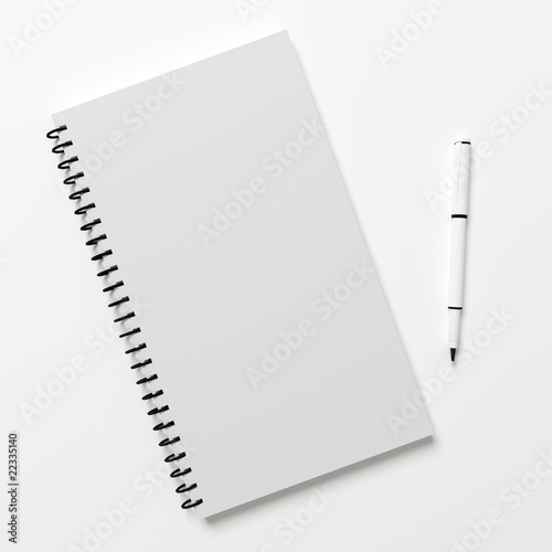 Notepad template