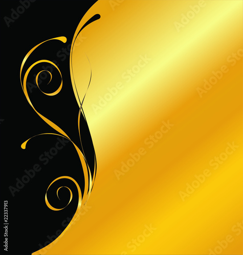 Cool Black And Gold Backgrounds. elegant vector lack and gold