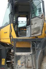 excavator opened