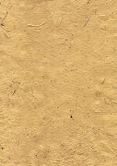 surface of the handmade paper