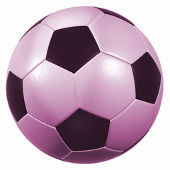 leather soccer ball high resolution