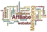 Affiliate Marketing - Word Cloud