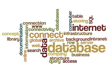 Database - Word Cloud